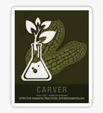 Science Posters - George Washington Carver - Botanist Sticker