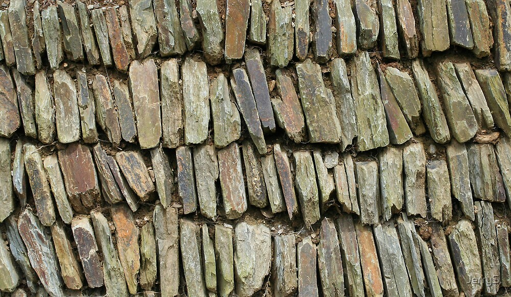 Rustic Cornish Wall by JerryS