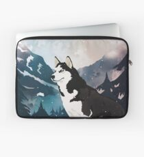 Mountain Husky  Laptop Sleeve