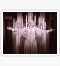 Maria in Fritz Lang's Metropolis  Sticker