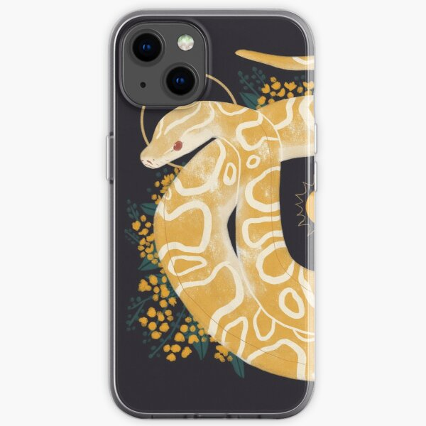 Familiar - Burmese Python iPhone Soft Case