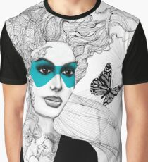 BUTTERFLY LADY - URBAN WARRIORS Graphic T-Shirt