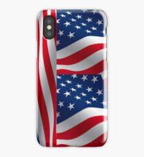 American Flag Patriot  iPhone Case