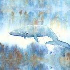 « Baleine bleue » par Castel Yvonne