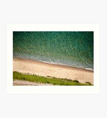 Lake Michigan Lakeshore Art Print