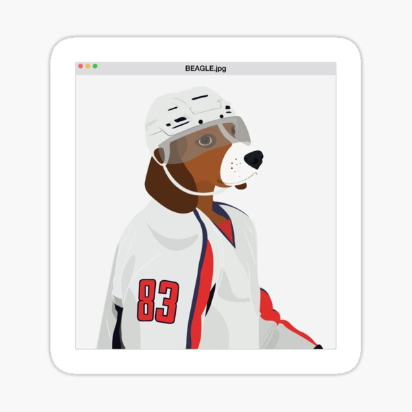 Beagle.jpg Sticker