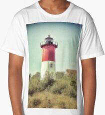 Nauset Beach Lighthouse Long T-Shirt