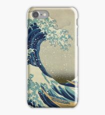 Hokusai, Great Wave off Kanagawa, Thirty-six Views of Mount Fuji, no. 21. Japan, Japanese, Wood block, print iPhone Case/Skin