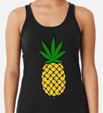 Pineapple Weed Leaf (Fold Up) Shirt Racerback Tank Top