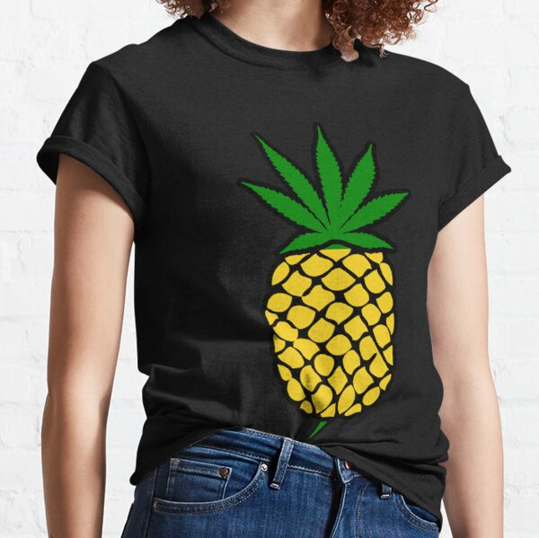 Pineapple Weed Leaf (Fold Up) Shirt Classic T-Shirt