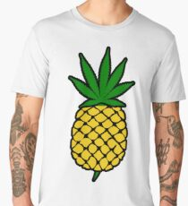 Pineapple Weed Leaf (Fold Up) Shirt Men's Premium T-Shirt