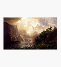 Among the Sierra Nevada, California Photographic Print