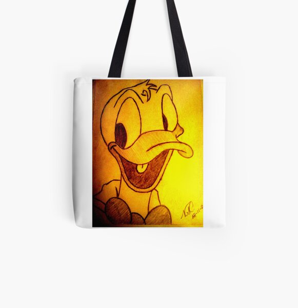 DONALD DUCK All Over Print Tote Bag