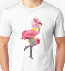 Lady Flamingo Pepe Psyche Unisex T-Shirt
