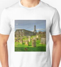 St Andrews Cathedral, Scotland. Unisex T-Shirt