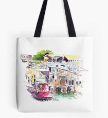 Lee Yu Mun Fishing Village  Tote Bag