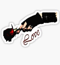Red Love  Sticker