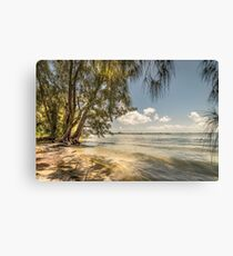 Gasparilla Pass along the Boca Grande Causeway Canvas Print