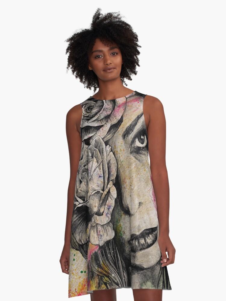 Gothic Flower Girl Dress