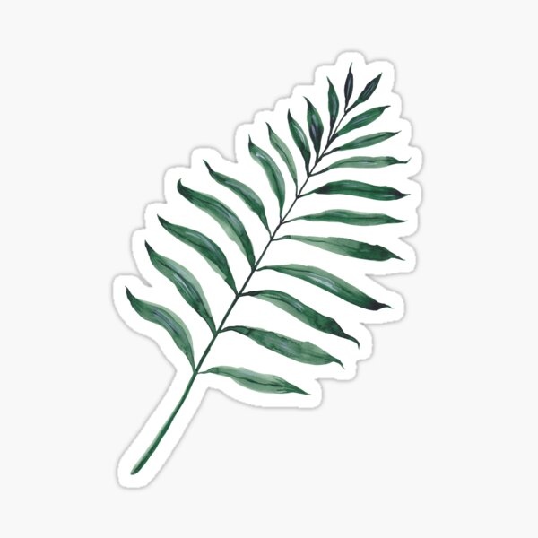 Tropical Greenery - Palm Tree Leaf Sticker