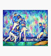 Go Cubs Go Photographic Print