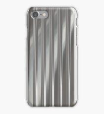 Corrugated Chrome #2 iPhone Case/Skin