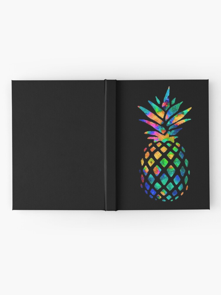 Alternate view of Rainbow Pineapple Hardcover Journal