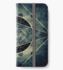 The eye of Saturn - Sacred Geometry iPhone Wallet/Case/Skin