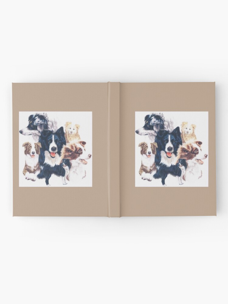 Alternate view of Border Collie Hardcover Journal