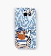 Seemann mit Seehund - Seaman With Seadog Samsung Galaxy Case/Skin