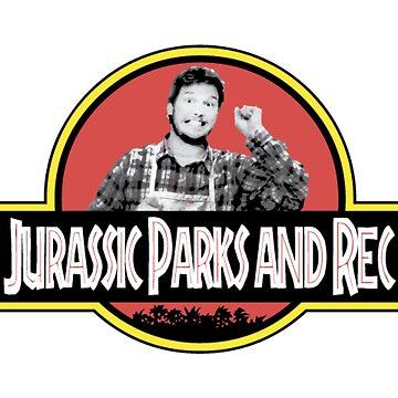 Jurassic Parks und Rec von erinaugusta