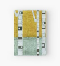 Early Winter Birches Hardcover Journal