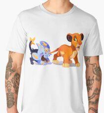 Simba and Shinx Men's Premium T-Shirt