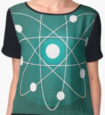 Science Posters - Niels Bohr - Physicist Chiffon Top