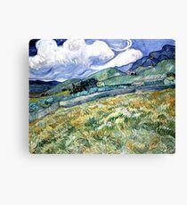 Landscape from Saint-Remy Canvas Print