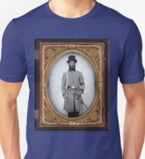 MILITARY / Civil War captain Unisex T-Shirt