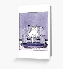 Mylady - Katze - Cat - Prinzessin Greeting Card