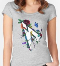 Pamaj Austin Flower Logo Women's Fitted Scoop T-Shirt