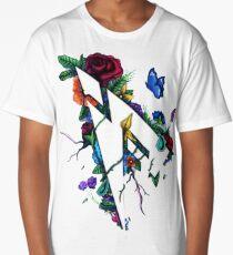 Pamaj Austin Flower Logo Long T-Shirt