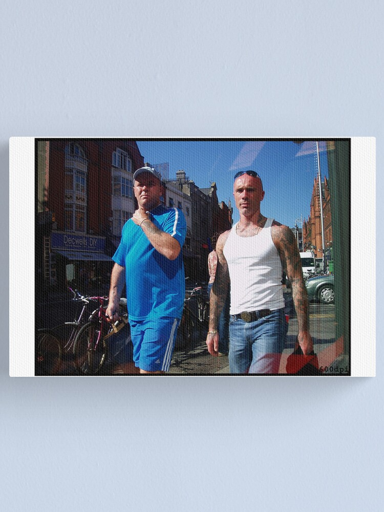Alternate view of Shopping in Dublin Canvas Print
