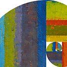 Golden Spiral Study by Michelle Calkins