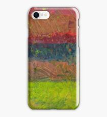 Abstract Landscape Series - Lake And Hills iPhone Case/Skin