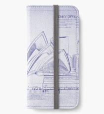 Blueprint digital art iphone wallets cases skins for x 88 plus sydney opera house iphone walletcaseskin malvernweather Choice Image