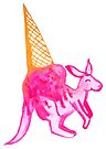 Kangaroo Ice Cream - By Merrin Dorothy by makemerriness