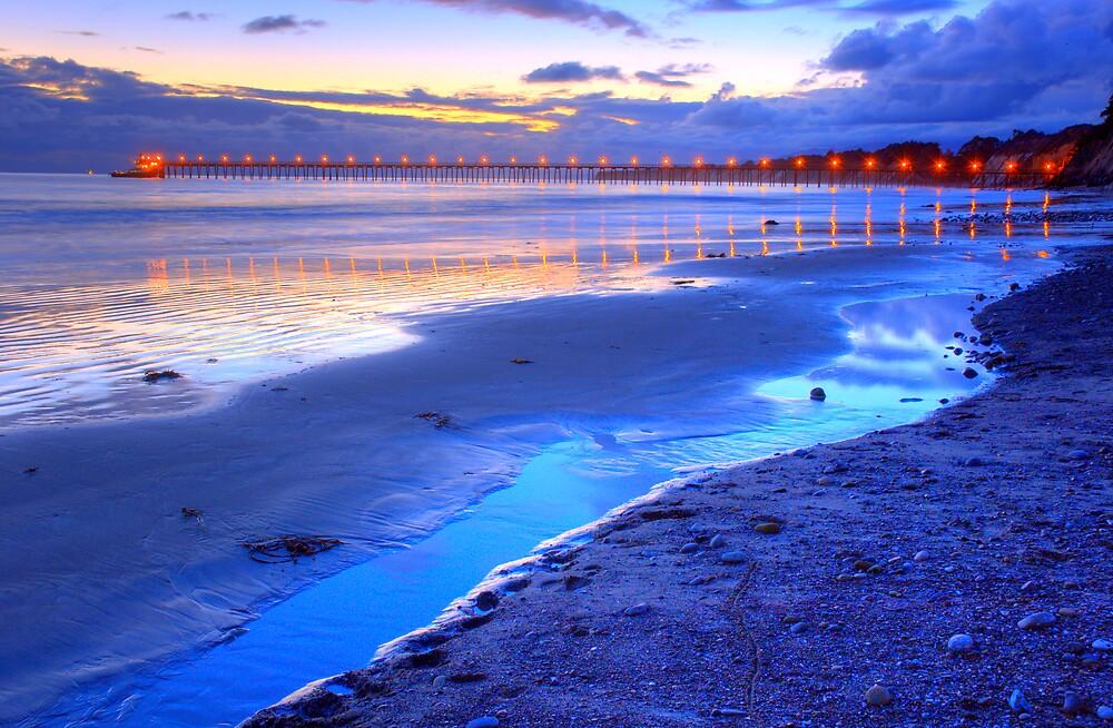 Bacara (Haskell's ) Beach, Santa Barbara by Eyal Nahmias