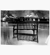 The River Thames Floods!  Poster