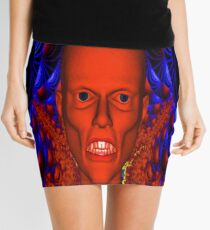 Red Ghoul Mini Skirt