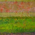 Abstract Landscape Series - Summer Fields by Michelle Calkins