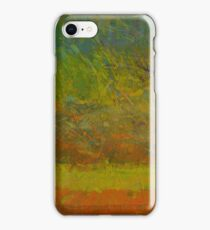 Abstract Landscape Series - Golden Dawn iPhone Case/Skin