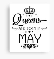 May Birthday Quotes Canvas Prints | Redbubble